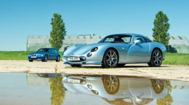 TVR Tuscan and BMW M Coupe duo