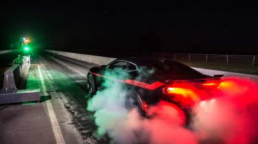 Hennessey Camaro strip