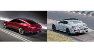 Mercedes-AMG GT Concept SPY - comparison