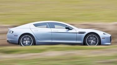 2013 Aston Martin Rapide S side profile
