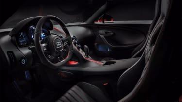 Bugatti Chiron Sport –interior