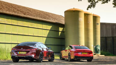 Audi RS7 vs M8 Comp GC - rear static