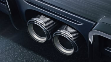 New Mini John Cooper Works Concept carbon exhaust surround