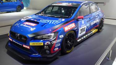 Subaru WRX STI NBR Challenge 2014: front