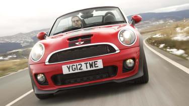 Mini Cooper SD red and black
