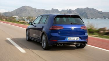 Volkswagen Golf R PP for UK - rear