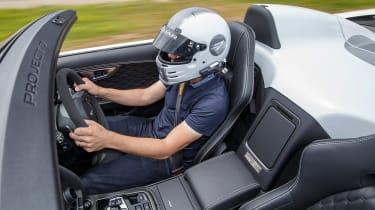Jaguar F-Type Project 7 - white interior