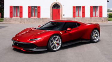 Ferrari SP38 - front quarter