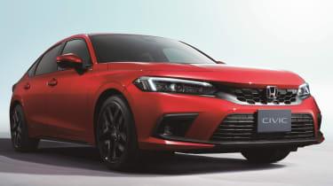 2022 Honda Civic Type R prototype – front quarter