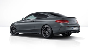 Mercedes-AMG C43 Coupe Night Edition - rear three-quarter