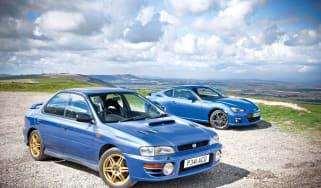 Subaru BRZ vs Subaru Impreza 2000 Turbo review