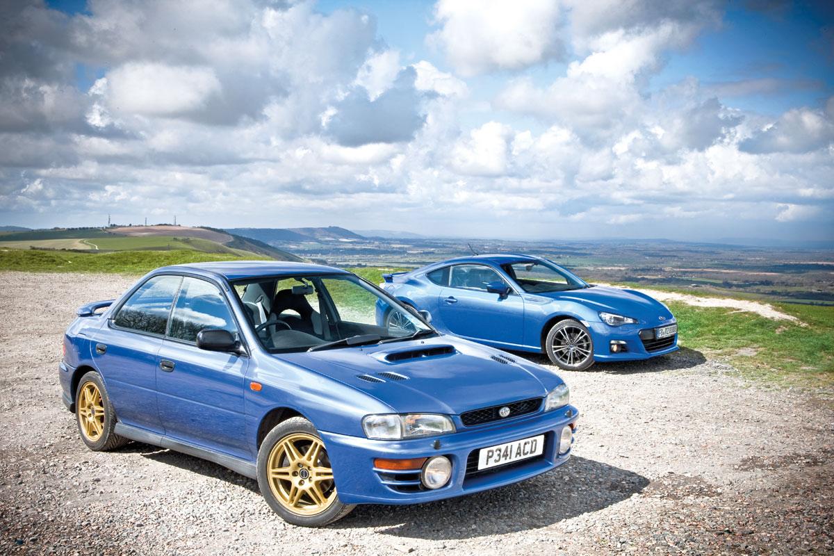 Brz Vs Wrx >> Subaru Brz Vs Subaru Impreza 2000 Turbo Evo