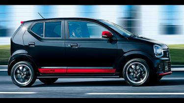 Suzuki Alto Turbo RS - profile