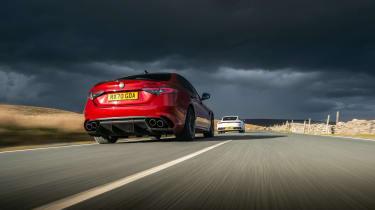 BMW M3 Group from evo 287 – Alfa 2 car tracking