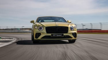 Bentley Continental GT Speed UK – nose tracking