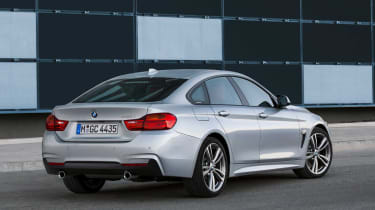 BMW 4-Series Gran Coupe rear