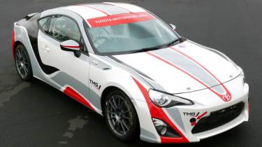 Toyota GT86 R3 rally car announced