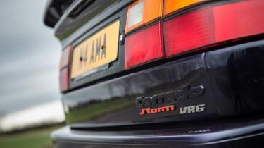Volkswagen Corrado VR6 tail lights