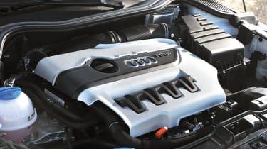 Audi A1 Quattro 2.0 TFSI engine
