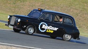 Top Gear Live taxi