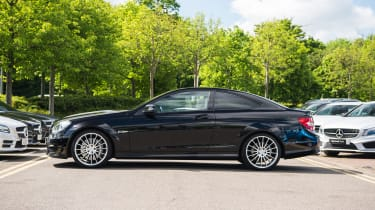 Mercedes-Benz C63 AMG Coupe – side