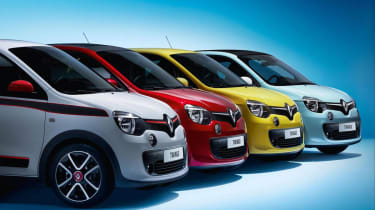Renault Twingo colour range