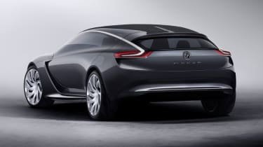 Opel Monza concept car rear view