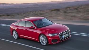 Audi A6 2018 - front