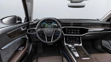 Audi A6 2018 - dash