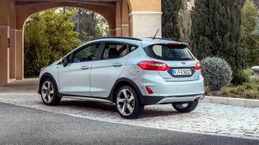 Ford Fiesta Active – rear quarter