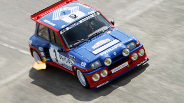 Renault 5 Turbo Maxi rally car