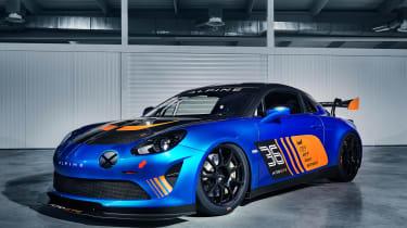 Alpine A110 GT4 - front quarter