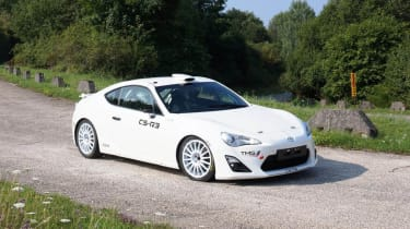 Toyota GT86 rally car