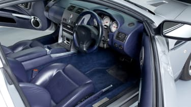 Aston Martin V12 Vanquish interior