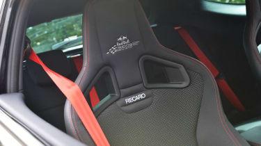 Renault Megane Red Bull RB8 Racing Recaro sports seat red seatbelt