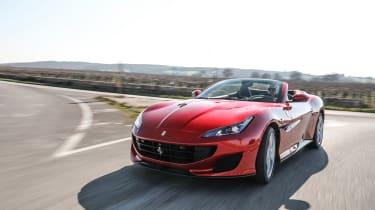 Ferrari Portofino - front driving