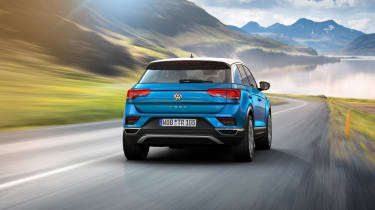 VW T-Roc - Blue rear
