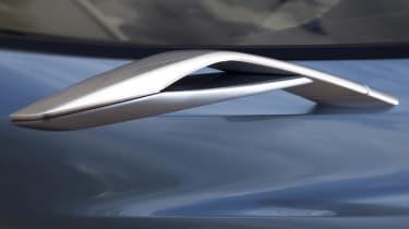 Mazda Shinari concept car at Milan mirror