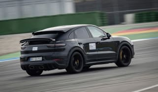 Porsche Cayenne Coupe Turbo S - proto rear quarter