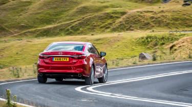 Mazda 6 MY18 review - rear