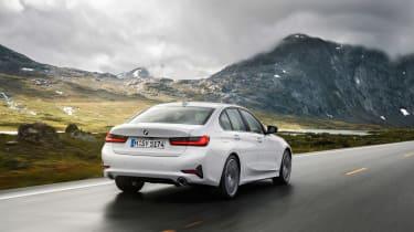 BMW 3-series G20 revealed - Sport rear quarter