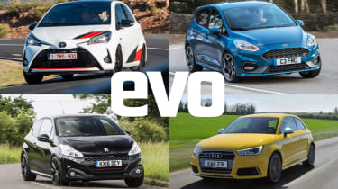 Best Superminis 2019 Quick Compact Hatchbacks Reviewed And Rated Evo