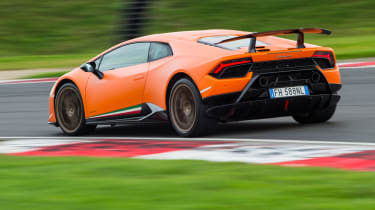 Lamborghini Huracan Performante – rear
