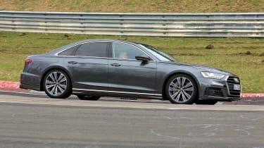 Audi S8 prototype - profile