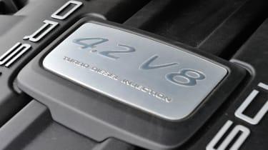 2013 Porsche Cayenne S Diesel engine cover