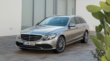 Mercedes-Benz C-class – front quarter