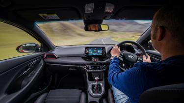 Hyundai i30 Fastback N - interior