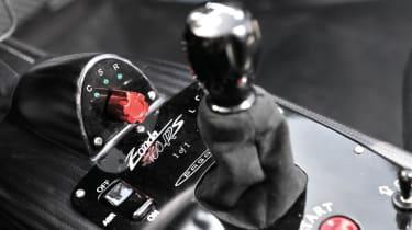 Pagani Zonda 760RS - the most extreme Zonda gear selector