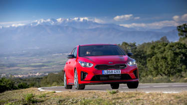 Kia Ceed GT review - front