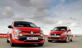 Renaultsport Twingo 133 vs Suzuki Swift Sport review